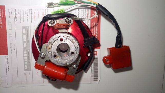 Parte elétrica stator bobine CDI pit bike competição