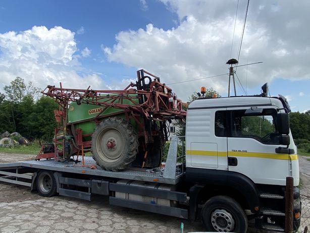 LAWETA 10 TON Braniewo/ Pomoc drogowa/Transport maszyn