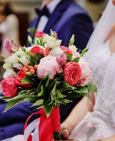 Dekoracje ślubne, kościół, sala, auto, bukiet, SUPER, CENA, JAKOŚĆ