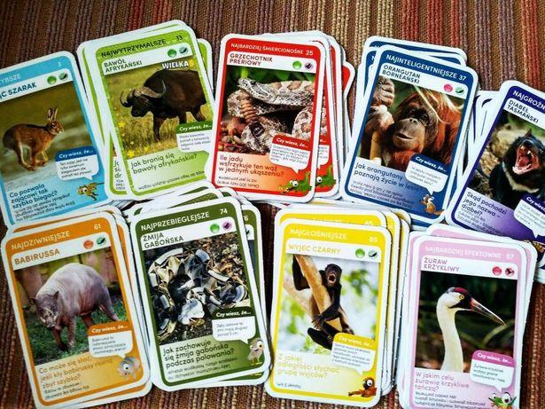 Karty Super Zwierzaki - Biedronka