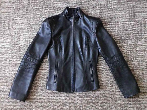Кожаная куртка, размер 42 (S)
