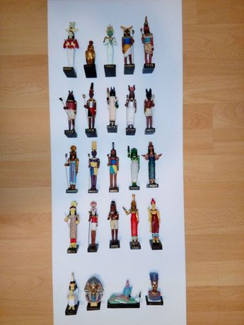 Egipt – Bogowie i Faraonowie – figurki - kolekcja
