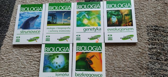Książki biologia