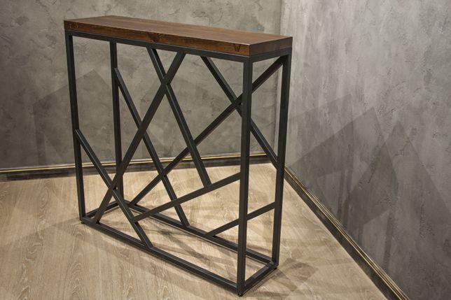 Мебель-лофт. Металлокаркасы любой сложности с покраской и доставкой.