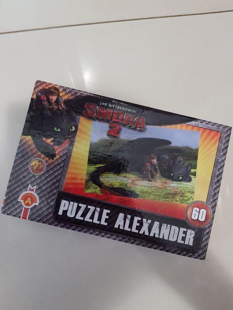 Puzzle 60 dla chłopca Jak wytresować smoka 2