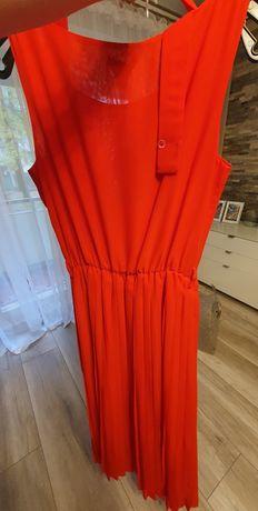 Nowa, długa, czerwona sukienka Ette Lou