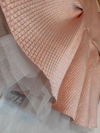 Sukienka  różowa 92