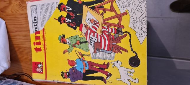 Tintin no pais do ouro negro . Livro Tintin n 18 de 1980