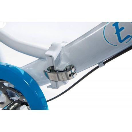 Ретро складной велосипед E-motion с низкой рамой