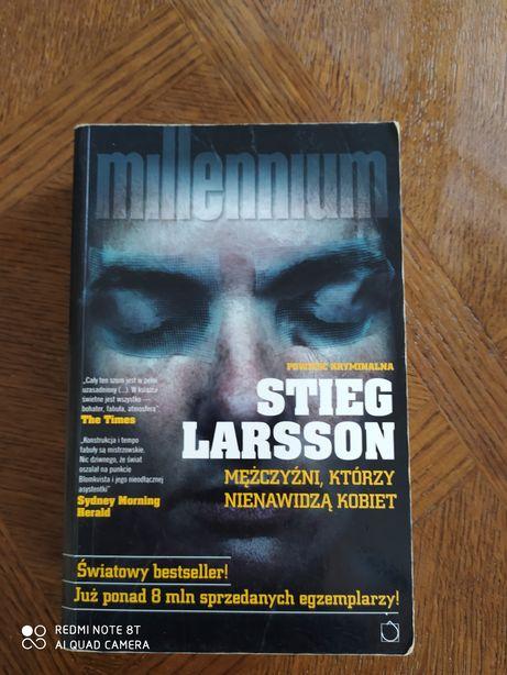 Millenium Stieg Larsson mężczyźni którzy nienawidzą kobiet