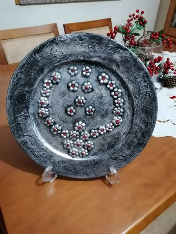 Prato decorativo de Natal