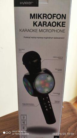 Bezprzewodowy Mikrofon karaoke świecący