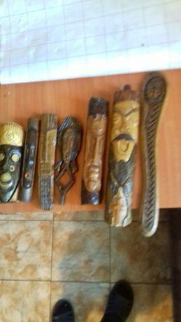 Маски деревянные