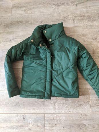 Куртка демисезон, осень зима теплая, короткая