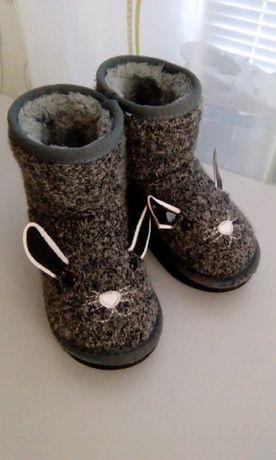 Зимние ботинки, сапоги, угги 25-26р