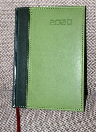 Kalendarz 2020 jako notatnik, A5, jasno-/ciemnozielony - ostatni