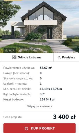 Projekt domu KomeKoncept