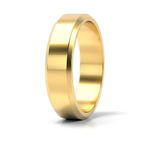 Złote obrączki próba 585, (wzór ST-10002) - para