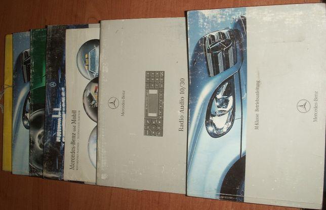 Mercedes ML W163 lift instrukcja książka etui