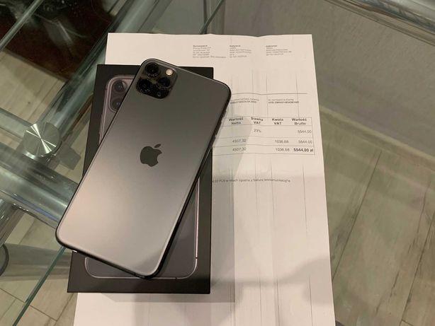 iPhone 11 Pro Max 64GB, bateria 97%, gwarancja 10 miesięcy