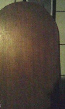 blat - lada brązowy kolor wykończony listwą