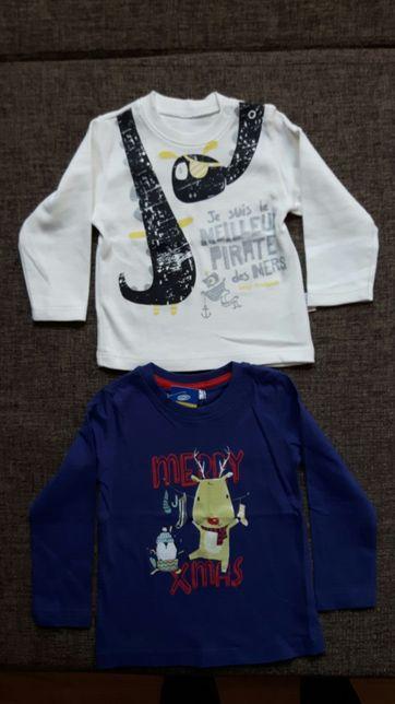 Nowe bluzki dla chłopca 2 szt.