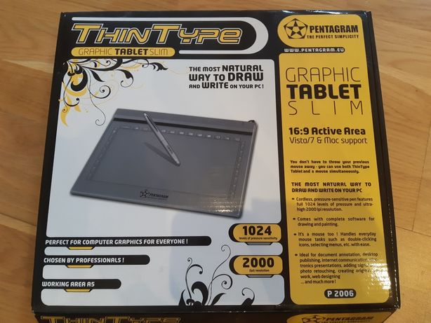 Tablet graficzny PENTAGRAM ThinType [P 2006]