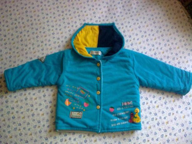 Курточка демисезонная на мальчика до 1.5 лет