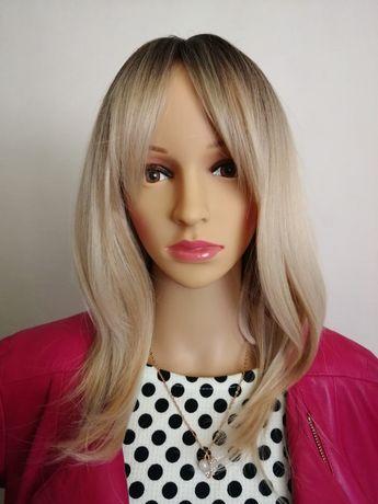 Peruka ombre blond