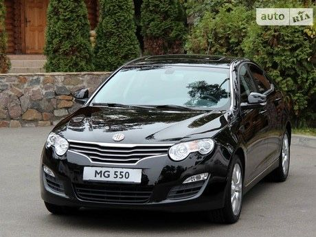 Продам авто mg 550 2012 года