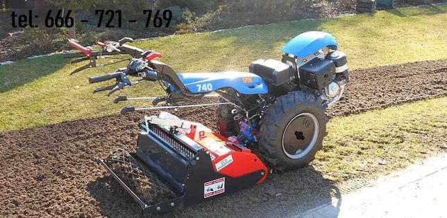 Traktor kultywator glebogryzarka przekopywanie pług oranie mazowieckie