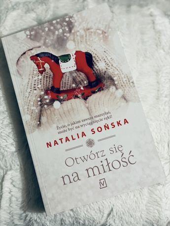 """Książka świąteczna """"Otwórz się na miłość"""""""