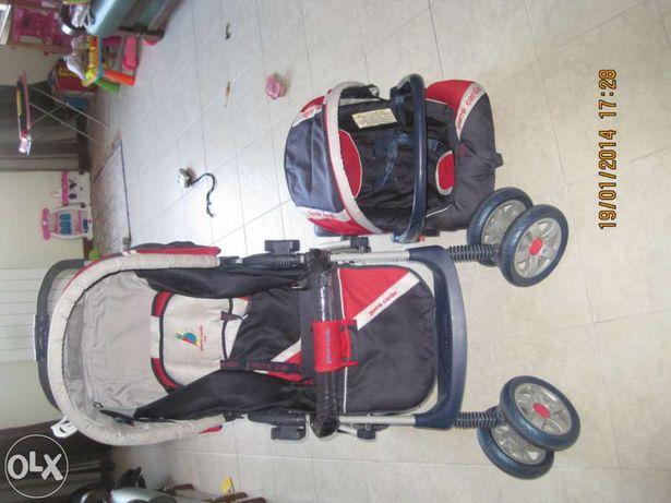 Carro de Bébé com ovo e cadeira para carro