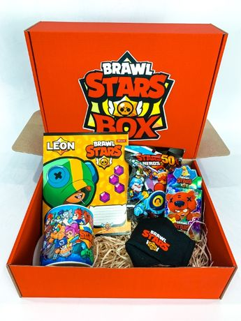 "Набор Brawl Stars Box Бравл Старс Бокс ""Мега Ящик Mini box (1)"" чашка"