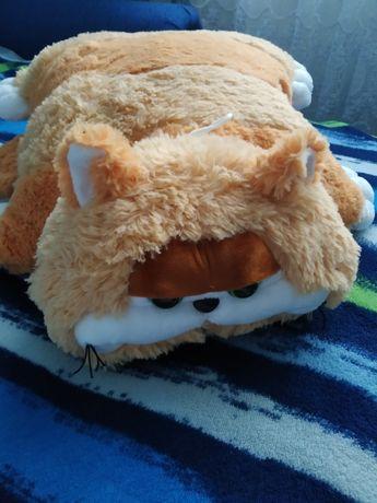 Подушка складушка кот Гарфилд игрушка трансформер/ іграшка подушка кіт