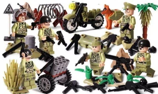 Amerykanie na frontach II Wojny Światowej - zestaw klocków ( nie LEGO