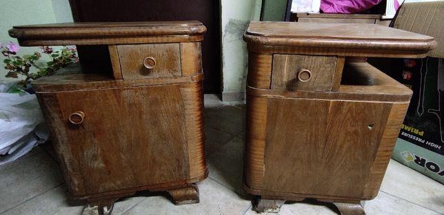 Stare szafeczki nocne-kleina dębowa