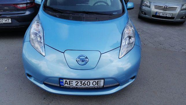 Nissan leaf S+ 15 голубой 72т.км батарея 91% чадемо рассрочка