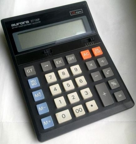 "Калькулятор ""aurora DT100F"" 14 разрядов"