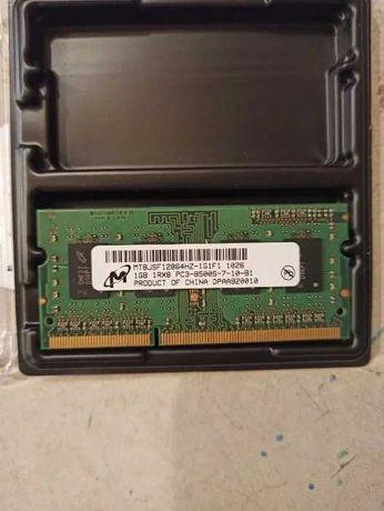 Память оперативка PC3-8500 SO-DIMM DDR3 1066MHz - 1Gb ОЗУ