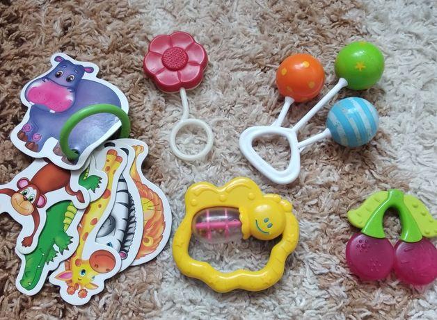 Іграшки для немовлят/ игрушки для новорожденных/для зубів