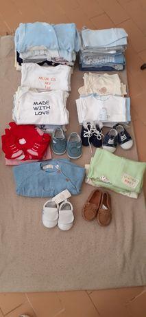 Roupa para bebé 1 a 3 meses