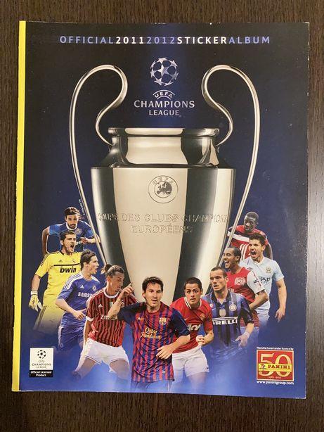 Caderneta Panini Champions League 2011-12