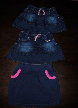 40-> spódniczka dresowa 5.10.15 jeansowa YOUNG DIMENSION r110/116 4-6Y