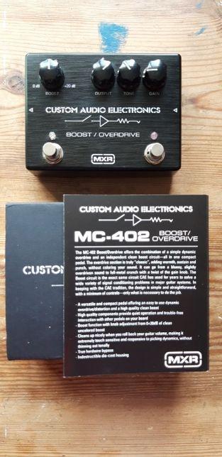 MXR Booster/Overdrive MC402