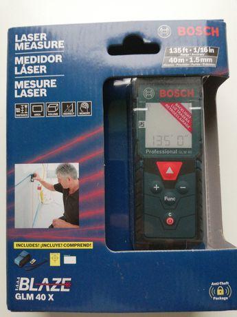 Dalmierz laserowy Bosch GLM 40 X Blaze nowy z USA