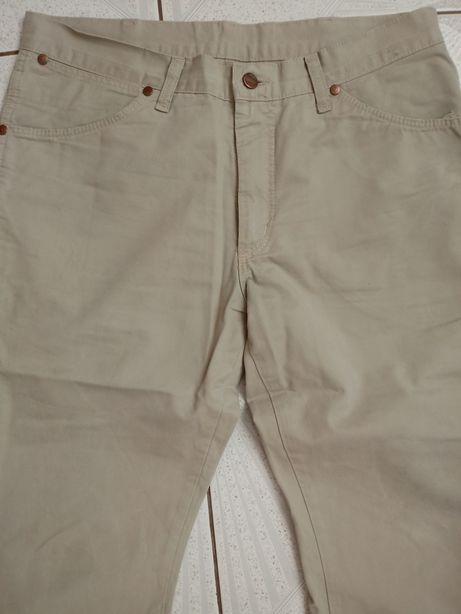 Spodnie Wrangler cienki jeans jak nowe 32/32
