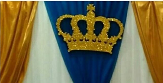 Корона из пинопласта