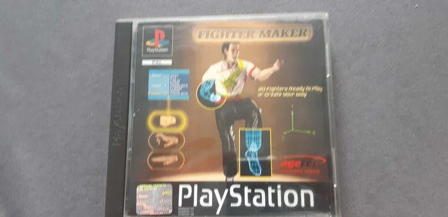 Fighter maker ps1 ps one psx