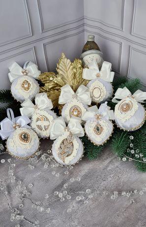 Новогодние украшения игрушки декор новорічні іграшки прикраси